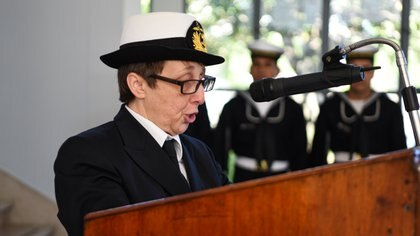 Comisario Naval Sandra D`iorio  (Gaceta Marinera)