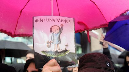 """El 3 de junio de 2015 se llevó a cabo la primer marcha de """"Ni una Menos"""" (Télam)"""