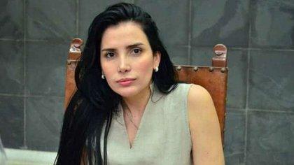 La ex congresista colombiana Aída Merlano.