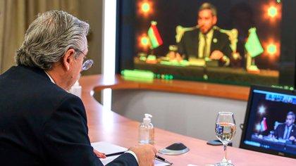 Alberto Fernández participará del Foro de Davos por videoconferencia desde la Quinta de Olivos