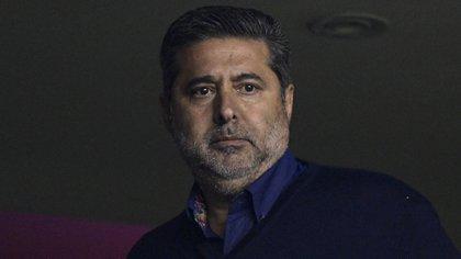 Daniel Angelici descartó volver a presentarse como presidente de Boca (Photo by JUAN MABROMATA / AFP)