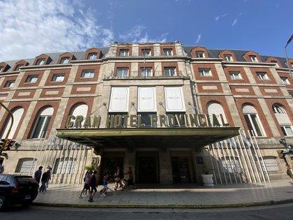 El Gran Hotel Provincial en Mar del Plata mantiene las puertas cerradas