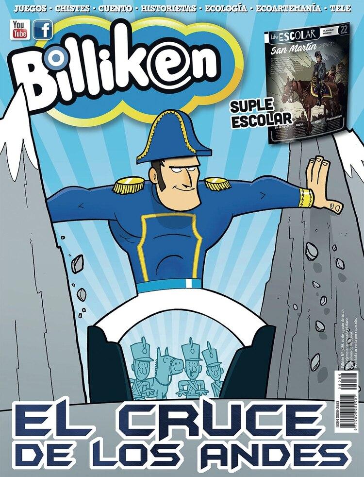 Ya en estos tiempos, en épocas de Instagram, el cruce de Los Andes del general San Martín casi dos siglos después y el canal de YouTube de Billiken.