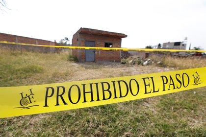Lugares baldíos o casas abandonadas es donde ocurren torturas y asesinatos producto de la desaparición forzada (Foto: Archivo/EFE)