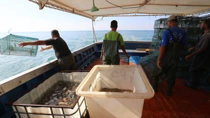 Pescadores en el mar Caribe  Foto: AFP (archivo)
