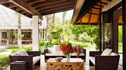 La mansión puede recibir a 24 invitados. Está ubicada en Casa de Campo