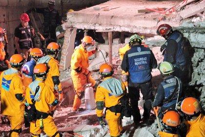 Horas después del sismo del 19 de septiembre de 2017 en México, llegó ayuda por parte de Japón (Foto: Cortesía JICA)