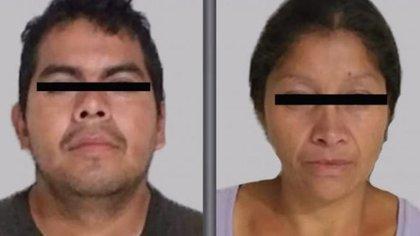 La pareja feminicida de Ecatepec enfrenta hasta ahora cargos por los asesinatos de 5 mujeres (Foto: Fiscalía del Estado de México)