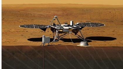 Insight tendrá varios instrumentos científicos para explorar el Marte profundo (NASA)