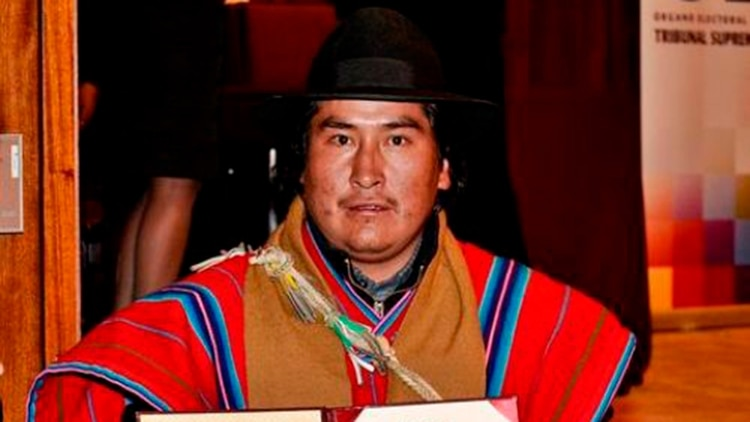 Jorge Choque Salomé es uno de los cuatro senadores del MAS elegidos por el departamento de La Paz
