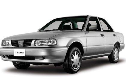 El Tsuru es el más robado, con una frecuencia de 28.33 por cada 1,000 unidades aseguradas (Foto: Nissan)