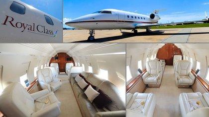 Royal Class cuenta con tres aeronaves de lujo