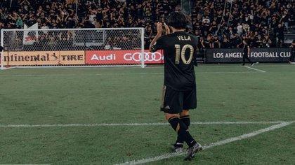 Vela es una de las máximas estrellas de la MLS; incluso ha ganado el MVP (Foto: Instagram/carlosv11_)