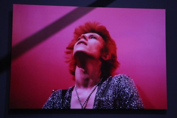 Una imagen de la exposición de David Bowie (Verónica Guerman)