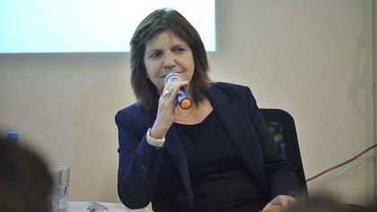 Patricia Bullrich reunida con jóvenes PRO. (Foto archivo: Gustavo Gavotti)