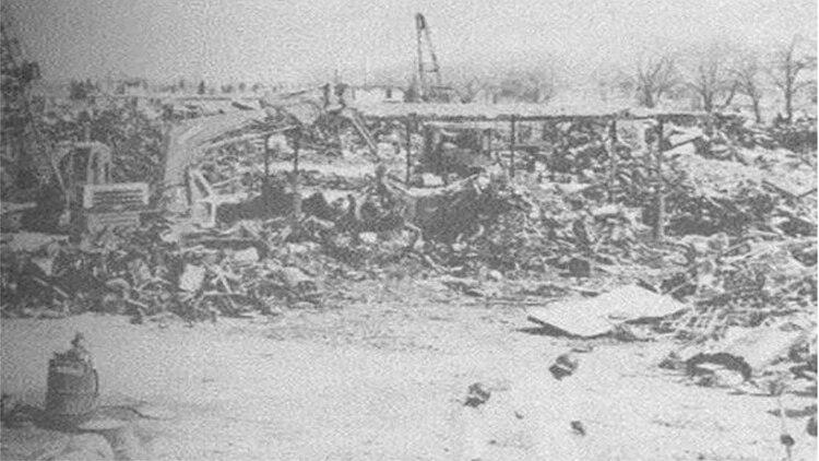 El depósito de chatarra el Yonke, donde fueron depositados los residuos radiactivos (Foto: Captura de pantalla)