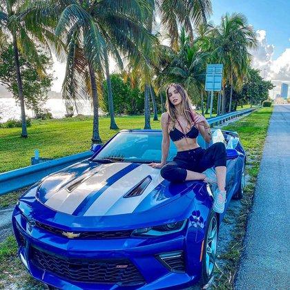 Romina Malaspina, en Miami