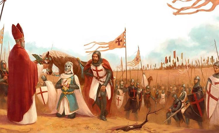 Balduino el Leproso, rey de Jerusalén, cubría su rostro con una máscara para ocultar las marcas de la enfermedad