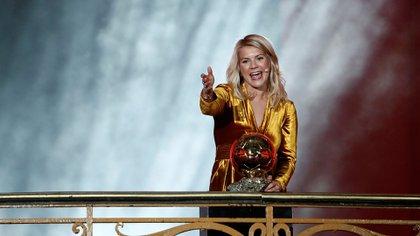 La futbolista noruega Ada Hegerberg fue la primera mujer en ganar un Balón de Oro (Reuters)