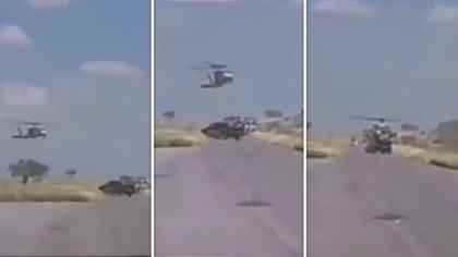 Cinco sicarios fueron abatidos por elementos de la Sedena luego de un enfrentamiento (Foto: Captura de Pantalla)