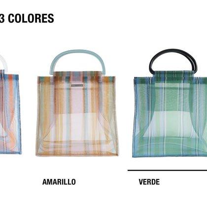 Bolso Shopper Rayas comercializado por Zara (Foto: Zara.com)