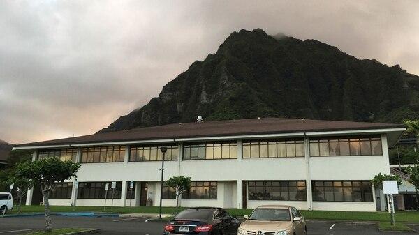 El hospital del que escapó el homicida (AP)