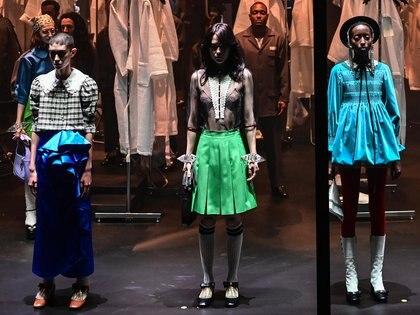 Los diseños de Gucci en la tercer semana de la moda