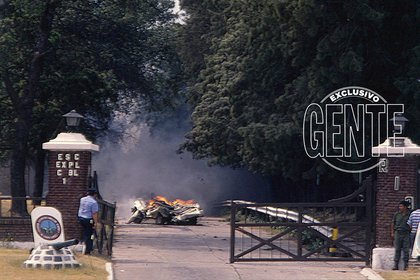 La entrada del Puesto 1 fue el lugar por donde ingresó la Policía. Uno de los primeros en entrar fue el comisario Emilio García García. Hizo cuarenta metros y lo hirieron. Murió tres días después.