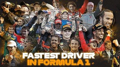 Los pilotos más rápidos de la F1