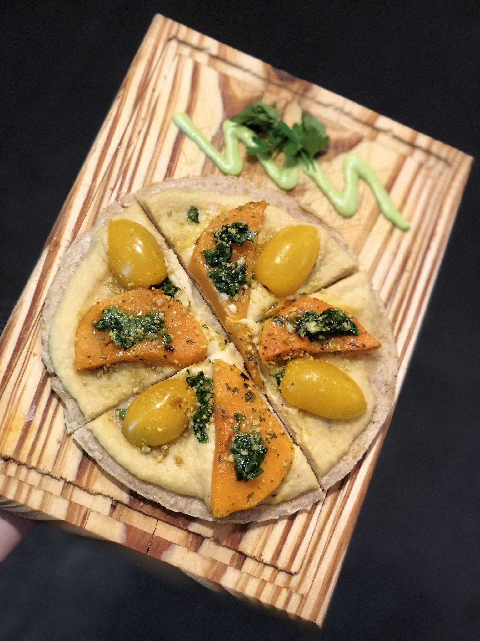 Pizza de masa madre, es una de las más pedidas en Mattinata