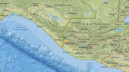 Un Terremoto De Magnitud 6 9 Sacudio La Frontera Entre Guatemala Y Mexico Infobae