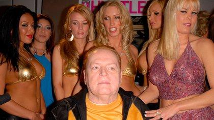 Larry Flynt, magante de la pornografía y fundador de la revista Hustler (Shutterstock)