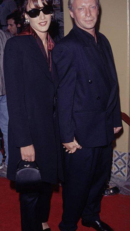 Jennifer Beals con su marido, Ken Dixon (http://www.jenniferbeals.com/biography.php)