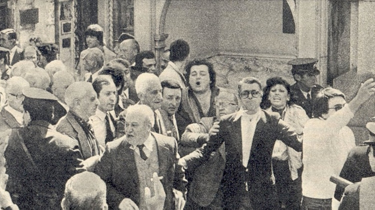 La salida de Illia de la Casa Rosada