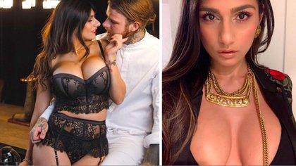 La celulitis se convirtió en la protagonista de la imagen con la que Mia Khalifa promocionó su sensual calendario (Foto: Instagram miakhalifa)