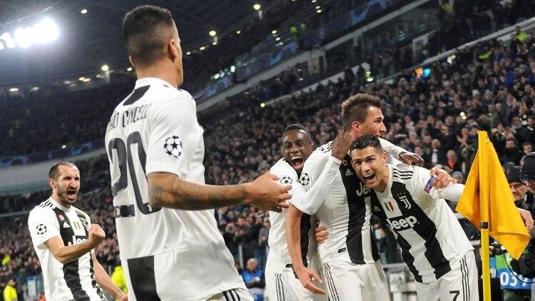 La Juventus de Cristiano Ronaldo será rival del Atlético Madrid (Reuters)