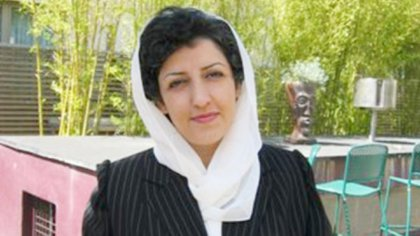 La activista Narges Mohammadi
