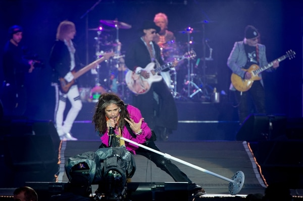 Aerosmith en Inglaterra, junio 11 2017 (Foto: Ollie Millington/WireImage)