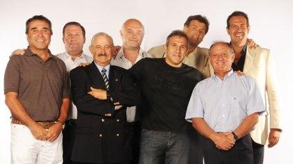 Hoy. Cocho López, El Tortero, Rodolfo Civitarese, Jacubovich, Husni, el Teto Medina, Rubén Daray y Coccia
