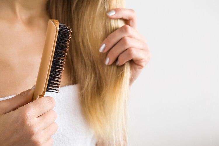 El peine araña es el adecuado para cepillar el pelo post lavado.  (gettyimages) 6fb982e1c14b