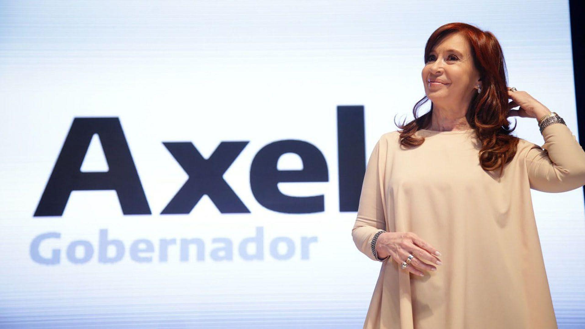 La ex presidenta acompañó a Kicillof en el cierre de campaña