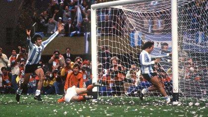 En la final, Argentina venció a Holanda (AFP PHOTO)