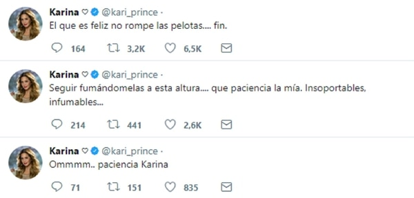 """La respuesta de Karina """"La Pricensita"""""""