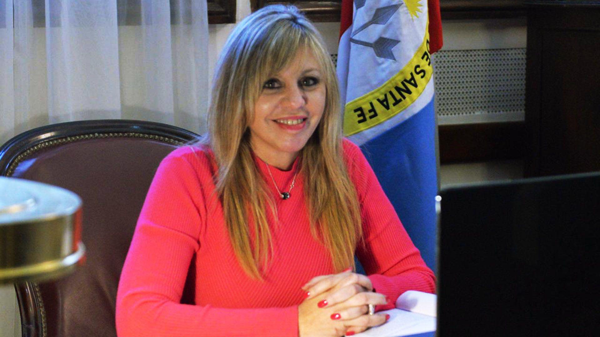 senadora María de los Ángeles Sacnun