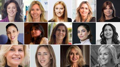 Catorce ejecutivas de distintos rubros cuentan cómo superaron el techo de cristal dentro de sus compañías y opinan sobre cómo terminar con la brecha de género
