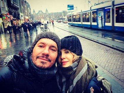 Marcelo Tinelli y Guillermina Valdes en Holanda (Fotos: Instagram)