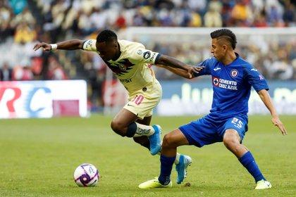 Alvarado confesó que su equipo no tuvo miedo al enfrentar a las Águilas (Foto: EFE/José Méndez)