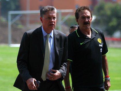 Peláez en su etapa en el América (Foto: Cuartoscuro)