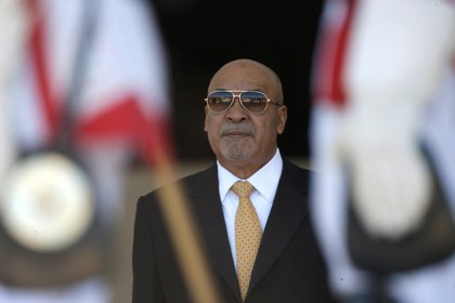 Desi Bouterse encabezó en 1980 un golpe de Estado (EFE/Joédson Alves)