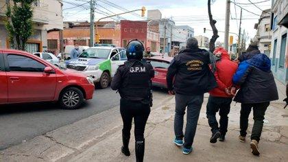 Avellaneda: la detención del comisario Damián Merchán.